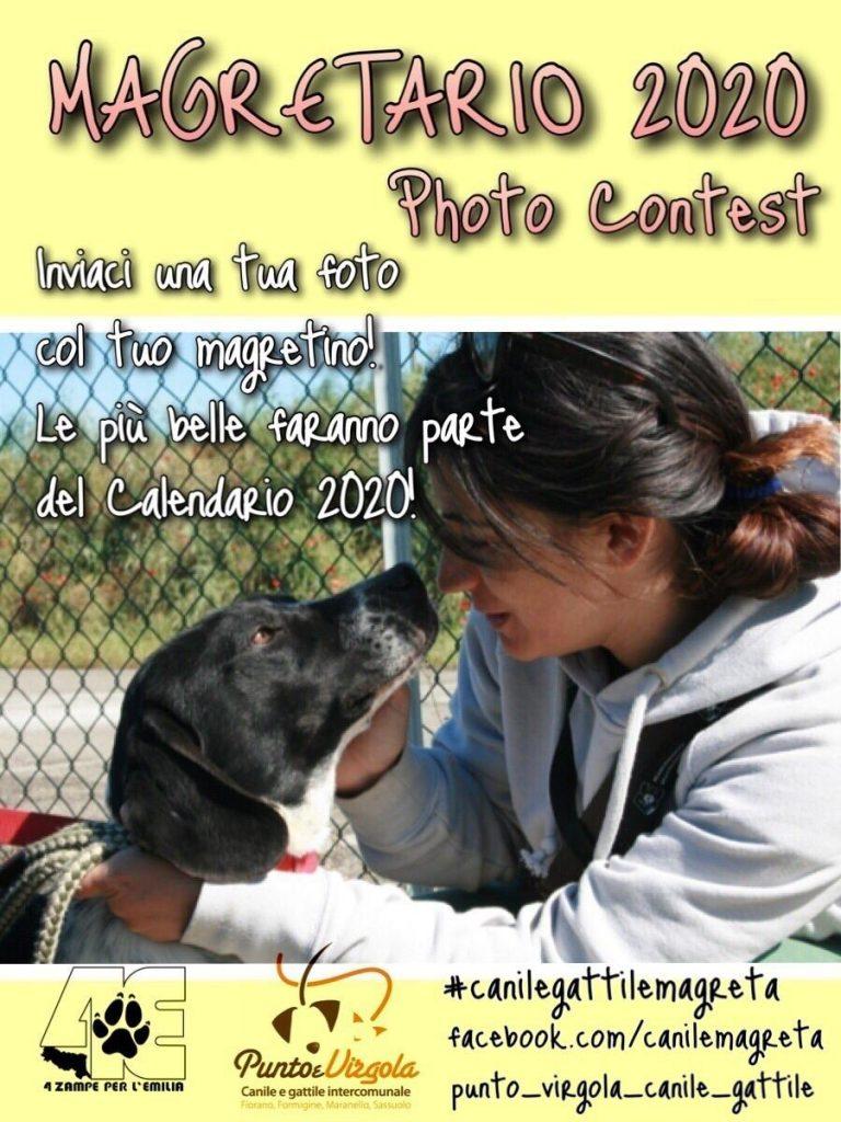 Modena Dog Calendario 2020.Magretario 2020 Photo Contest Caleidos Coop Sociale