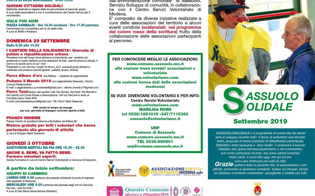 Sassuolo solidale