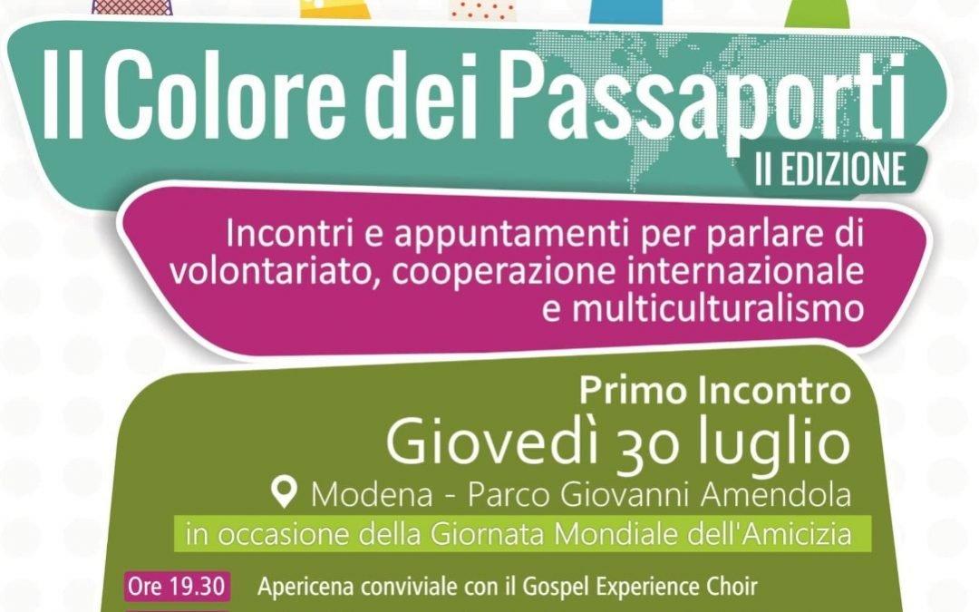 Il colore dei passaporti – Giornata dell'amicizia