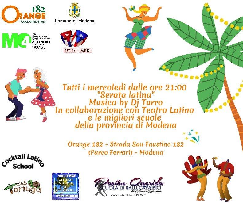 Serata latino americana