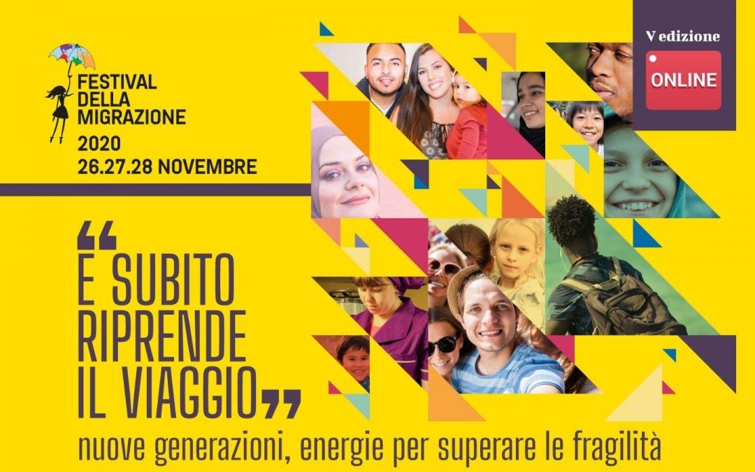 Festival della Migrazione 2020 – Modena 26,27,28 novembre – tutto online