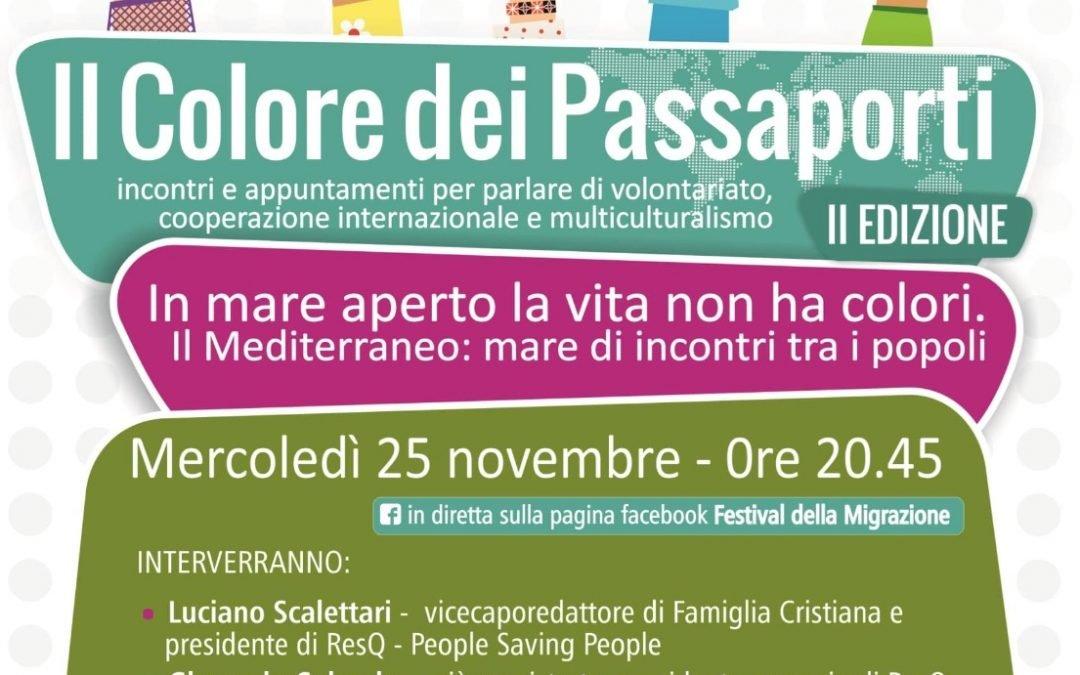 """25 novembre – Incontro online """"In mare aperto la vita non ha colori"""" con Gherardo Colombo e tanti altri ospiti"""